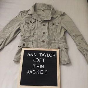 Ann Taylor Loft Thin Jacket